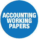Accounting Working Papers Mobile Logo